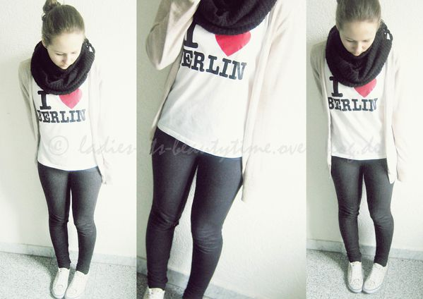 Outfit I love Berlin