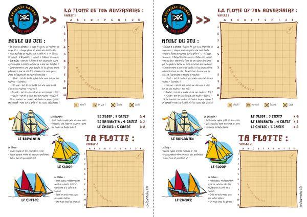la bataille navale des pirates