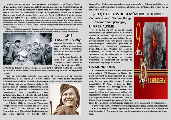 5- INTERNATIONALISME