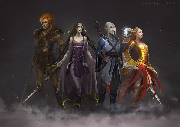 sombras divinas characters by telthona-d5seaq4