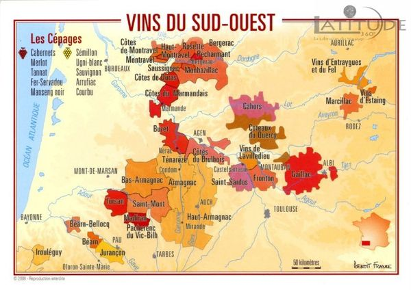 Wines of SW France