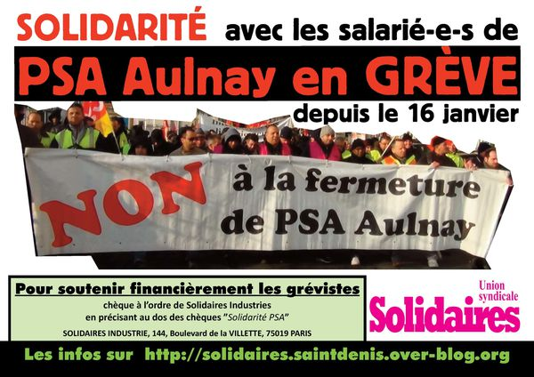 2013-01-18 Visuel Grève PSA