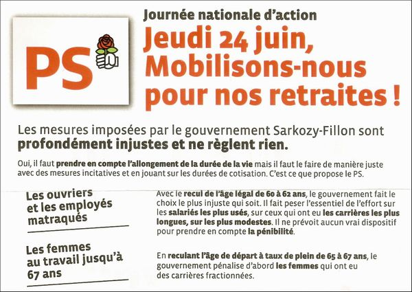 tract manif du 24 juin 2010 - page 1
