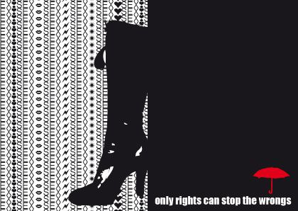 only rights can fight the wrong
