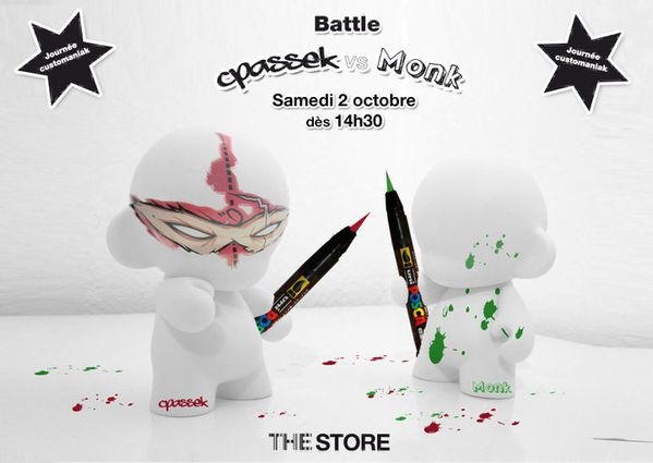 Battle Cpassek &amp; Monk au The Store
