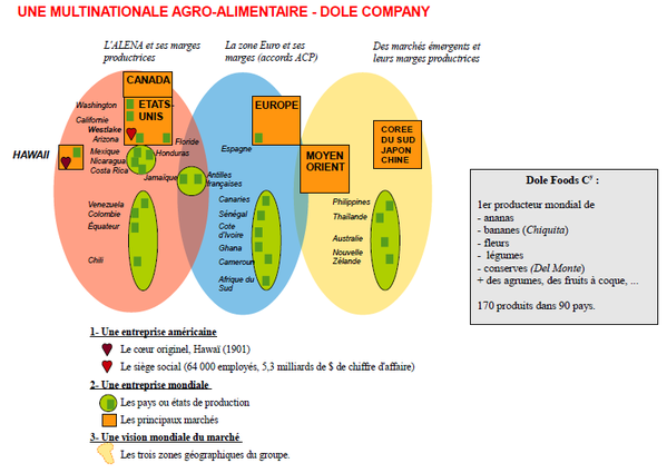 Une Multinationale Agro Alimentaire Dole Food Company