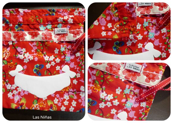Sac culotte Collage