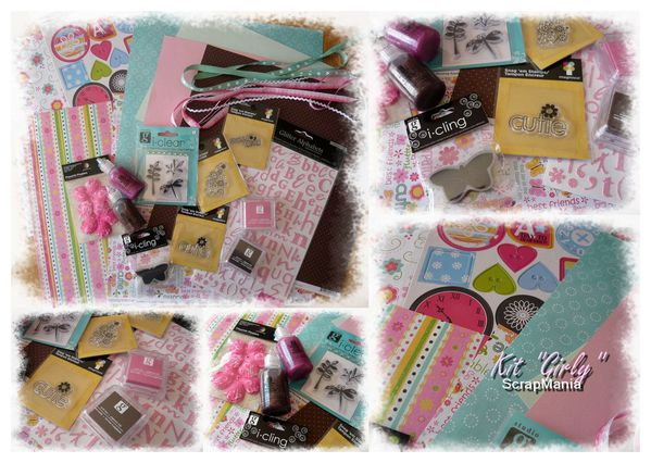 Kit Girly sept 10 Scrapmania
