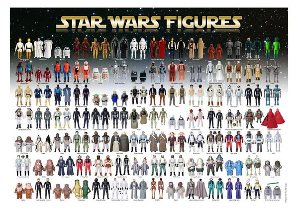 lego star wars personnages. Black Bedroom Furniture Sets. Home Design Ideas