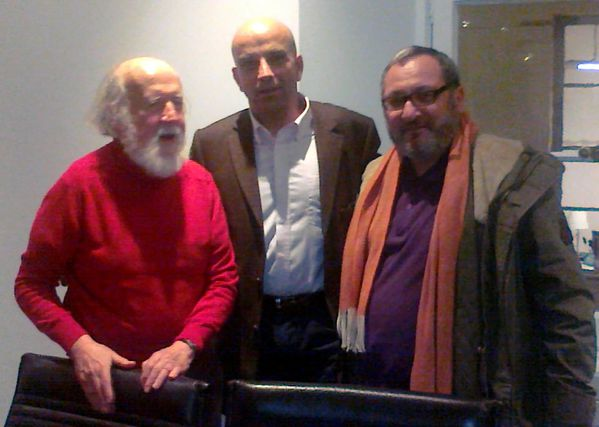 David et Hubert Reeves et Benoit de Laurens 10 01 2012
