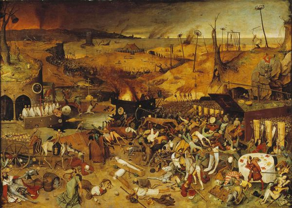 pierre brueghel The triumph of death le triomphe de la mort