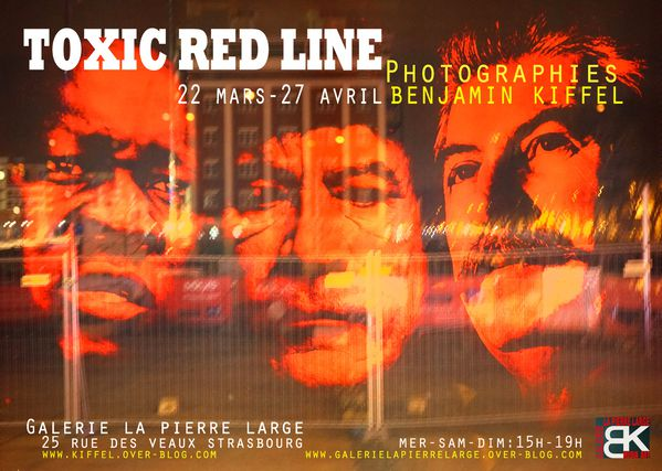 toxic red line flyer