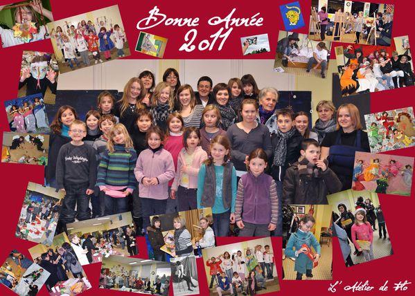 BON ANNEE 2011 Atelier de Flo