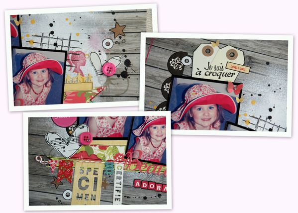 1-Denim Scrapbooking day