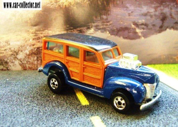 40's woodie hot wheels 1982 rims bw