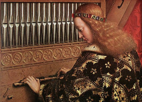 The Ghent Altarpiece Angels Playing Music