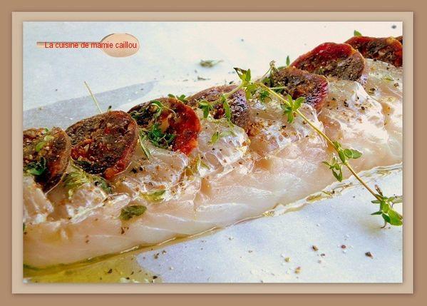 Recettes cabillaud chorizo - Cuisiner des dos de cabillaud ...