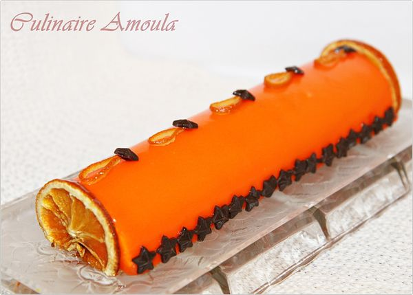 Gateau de noel a l'orange