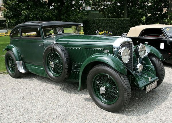 bentley speed six blue train special 1930 09