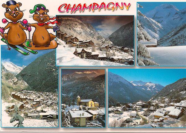 carte champagny