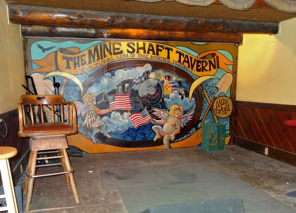 Turquoise Trail Mine Shaft tavern