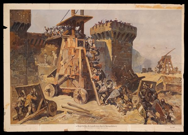 the siege of Jerusalem (7th to 15th July 1099) during the f