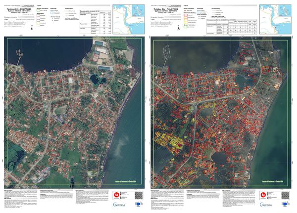 Typhon Haiyan - Philippines - Copernicus - Emergency mappin
