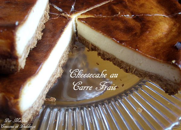 cheesecake au speculoos et carre frais
