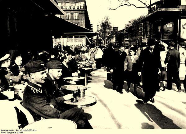 Vue parisienne en 1941