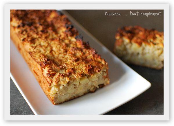 Cake Aux Pommes Et Au Citron