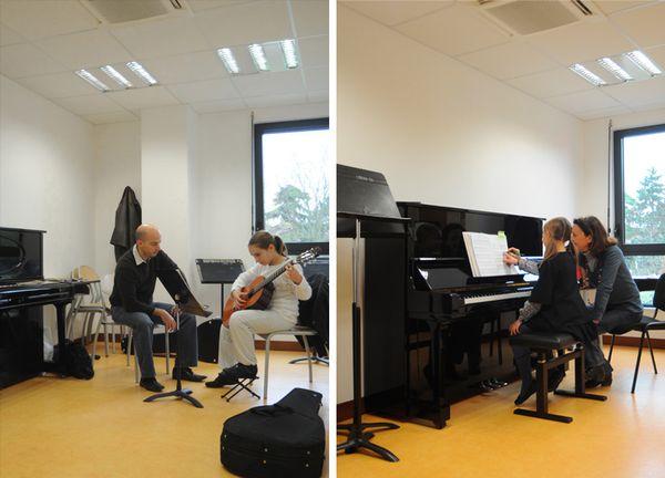 Conservatoire de musique salles piano