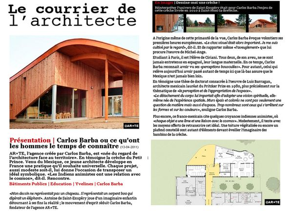 18-Le courrier de l'architecte