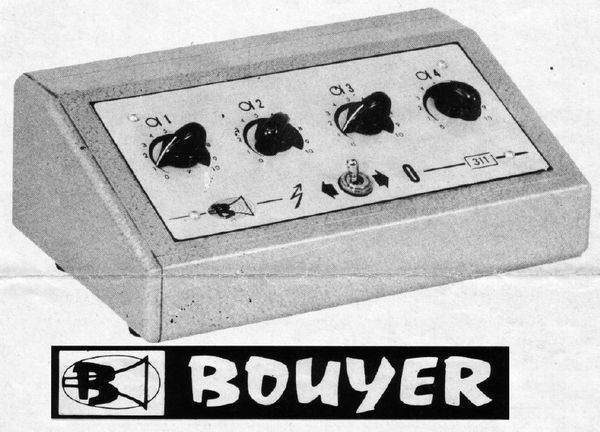 PREAMPLI MIXER BOUYER 311
