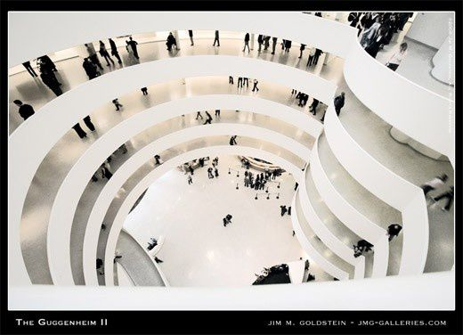Musée Guggenheim - New York city - Franck Lloyd W-copie-1