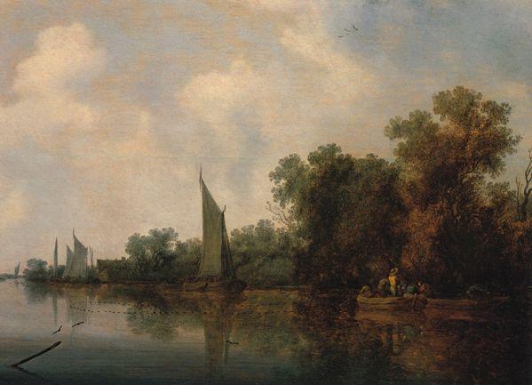 Ruysdael riviere