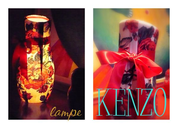 LAMPE kenzo VALERIE ALBERTOSI 1