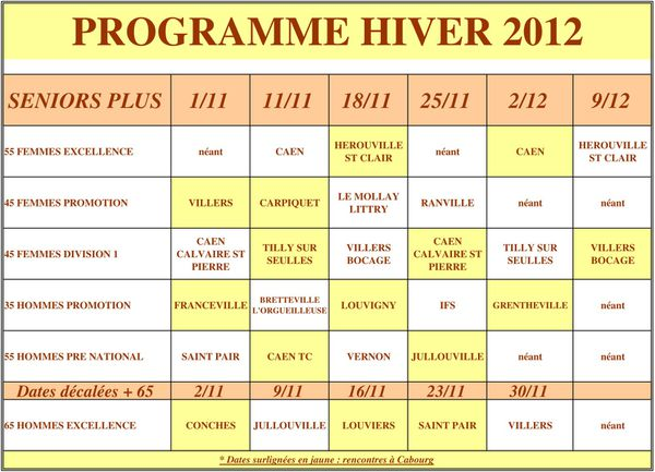 PROGRAMME S+ HIVER 2012 01