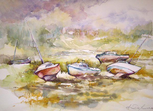 La baie de Canche