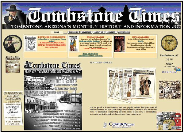 Tombstone Times