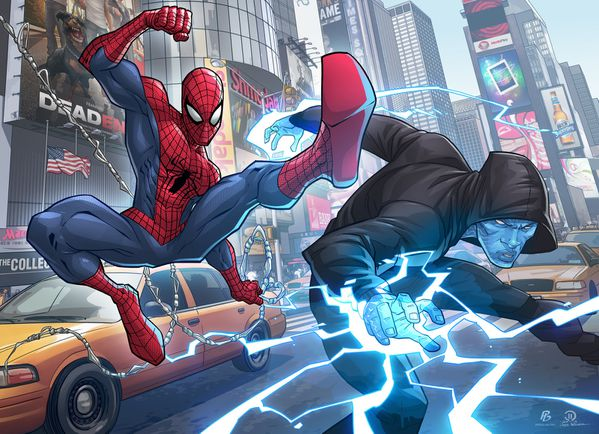 amazing spiderman 2 collab with patrick brown by joeyvazque