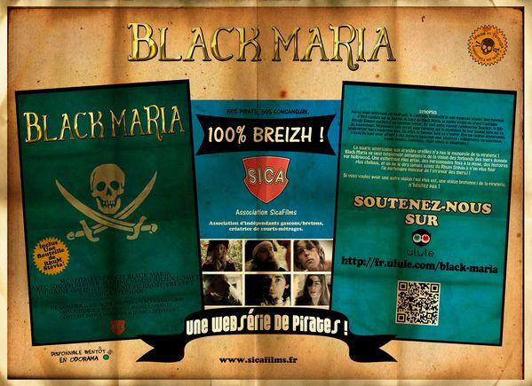 affiche Black Maria soutien Ulule 300Dpi