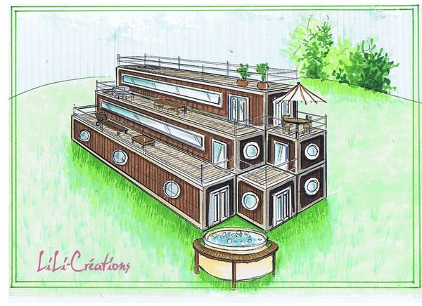 Maison en container 4 le blog de elise fossoux for Maison container 50000