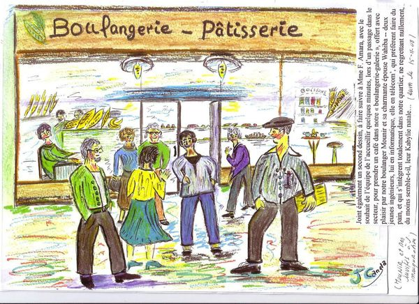 Chronique 8 confidences de jacquot l 39 alpiniste le - Dessin boulangerie patisserie ...