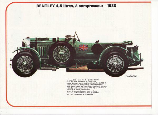 auto Bentley 4,5 litres 1930 01