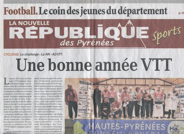Article NR Remise Challenge 2014 1