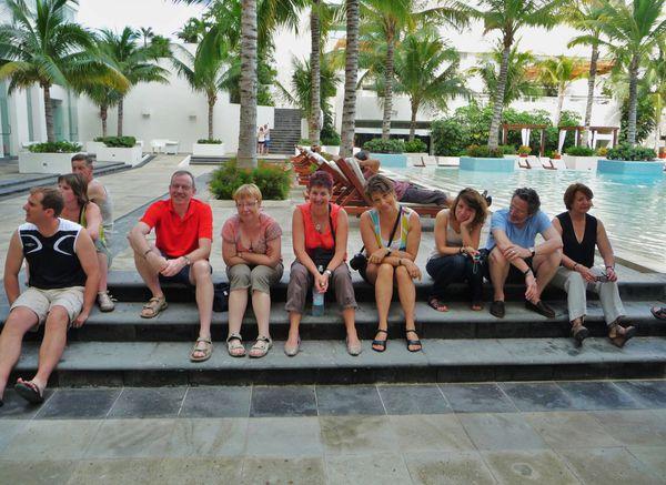 Jour 10 Cancun groupe triste