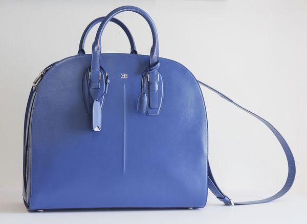 BUGATTI EB Line Blue Bag