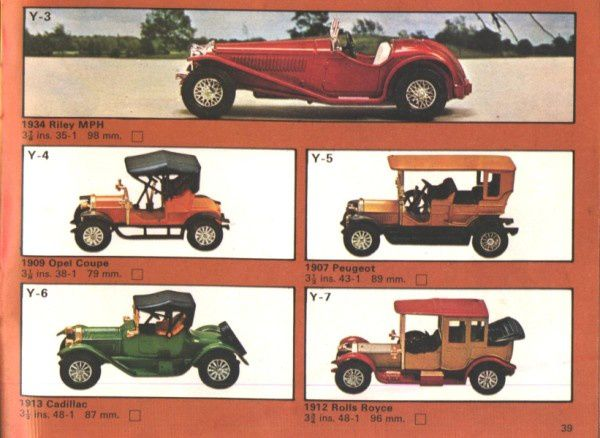 Copie de catalogue matchbox 1975 p39
