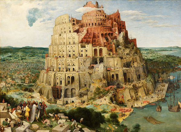 800px-Pieter Bruegel the Elder - The Tower of Babel %28Vien