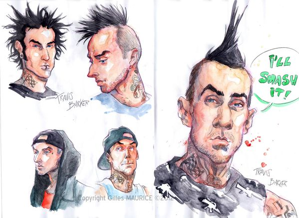 blink-182 travis-barker